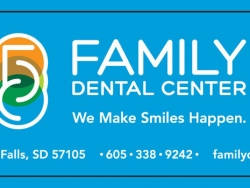 Family Dental Center Custom Bottled Water Label - 6.5x1.75 - 10 oz Bottled Water