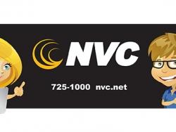 NVC Custom Bottled Water Label