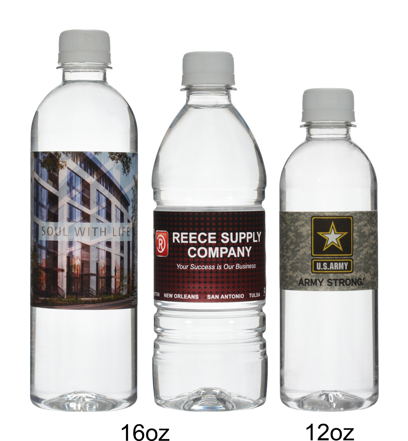 Advertise Your Brand with Our Custom Water Bottle Labels