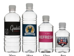 Custom water bottles produced and shipped from Maryland (#2).