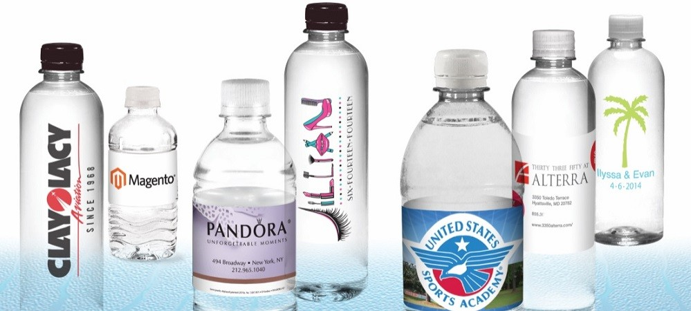 Personalized Bottled Water Labels The Water Depot